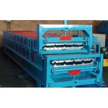 Máquina formadora de rolos de perfil trapezoidal de aço colorido