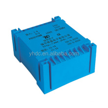 PU3910B 220V/110V 10VA/18VA/20VA/30VA flat type transformer