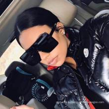 Cheap Fashion Designer Women Men Square Oversized Big Rectangle Frame Shades Sun Glasses Sunglasses