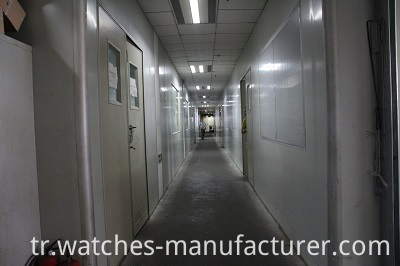 corridor of case factory