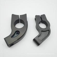 Custom titanium machined motor bike modification parts