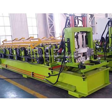 Automatische C-Kanal-Stahl-Purling-Rollenformmaschine
