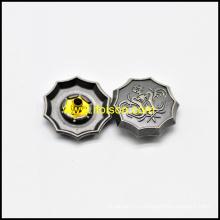 Цветок формы металлические оснастки кнопки