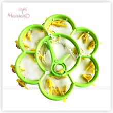 Durchmesser 29,5 cm Blume geformt Kunststoff Kleiderbügel