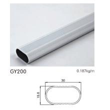 Perfil de tubo de suspensión de aluminio para la puerta del armario