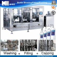 Alta capacidad con nueva tecnología Máquina de tapado de llenado de lavado