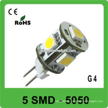 G4 led bombilla G4 lámpara led 5 pcs 5050 SMD