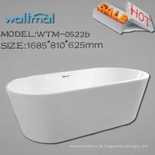 Schmaler Flansch Freistehende Royal Bathtub Freistehende Badewanne Hersteller