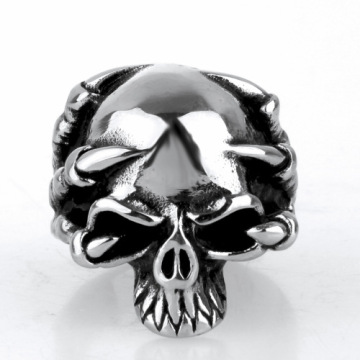 Niet-mainstream magere Reaper Claw Skull Ring