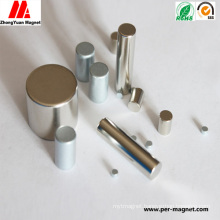 China Permanent Cylinder NdFeB Neodymium Magnet with SGS