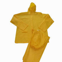 Yellow Pvc Rain Coat
