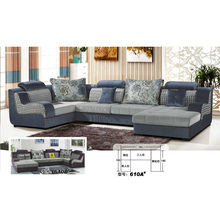 Nice Feeling U Shape Living Room Sofa (610A)