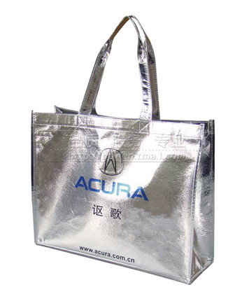 Laminated non woven grocery bags