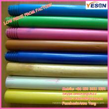 Balai manche en bois peint / manche en bois coloré / manche en bois pour jouet