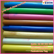 broom painted wooden handle/colorful wooden handle/wooden handle for toy