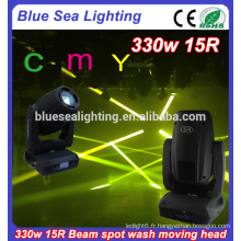 CMY Stage Light DJ lampe de bar 15R 330W tête de tête mobile