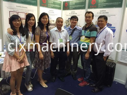 2015 Vietnam stretch film making machine