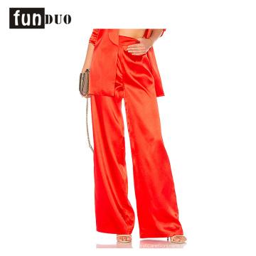 2018 Frauen rote Hosen Sofe beiläufige Hosenart und weise lösen Hosen 2018 Frauen rote Hosen Sofe beiläufige Hosenart und weise lose Hosen