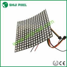 Rgb smd5050 pixel 16 * 16 sk6812 flexível matriz de matriz de led ws2812b