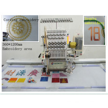 Big Area Single Head Sequin and Cording Embroidery Machine