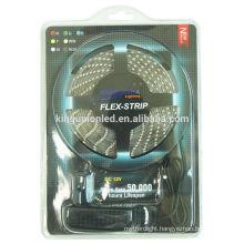 2014 DC12V/24V the best price Led Strip Kit with Blister Package