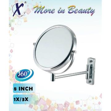 8 pouces doubles côtés mur miroir Compacts (J833B)