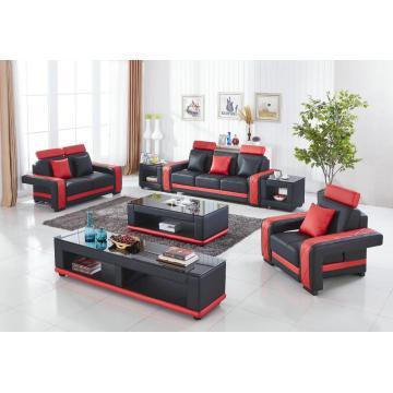 Комбинация дивана для гостиной в суперсовременном стиле