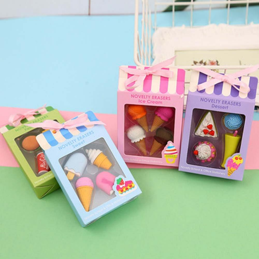 4 Packs Rubber Erasers 1