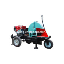 High Efficiency 630 Rpm Mobile Wood Chipper For Landscapes And Gardens Yq163