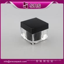 J053 30g 50g brosse en lotion forme carrée de 80g, crème pour soins de la peau crème acrylique à vide acrylique