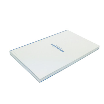 White simple thin and light paper box
