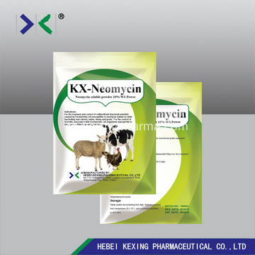 ยา Neomycin 30% Sulfate Powders Poultry Drugs