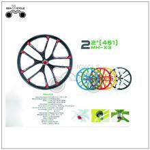 """22 """"عجلة الدراجة الملونة المخصصة الطريق الدراجة"""