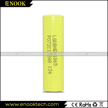 الساخنة بيع ال جي HE4 2500mAh السجائر الإلكترونية-البطارية