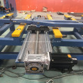 Electric shearing machine with movable blade system