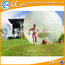 Biggest funny good material human-sized hamster ball inflatable zorb ball for sale