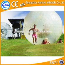 A bola inflável do zorb da esfera do hamster humano-feita sob medida material a mais grande engraçada boa grande para a venda
