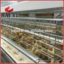 Avicultura popular usada H tipo jaula de polluelo, jaula de polluelo de bebé