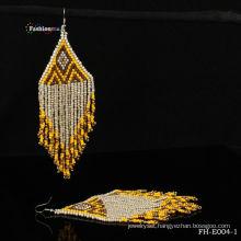 Native european pattern beaded earring designs