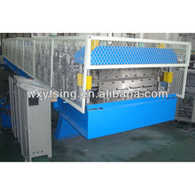 15Kw Hydraulische automatische Schneiden Doppelschicht Roof Roll Forming Machine / Double Layer Making Machine