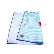New professional promotional foldable pp woven beach mat