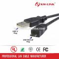 Hochwertiges Mikro-USB-Kabel USB2.0 A zu Micro B Daten-Synchronisierungs-Gebühren-Kabel für intelligentes Telefon