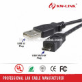 High Quality Micro USB Cable USB2.0 A to Micro B Data Sync Charge Cable For Smart Phone