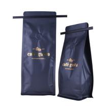Sacos para torrador de café embala café com válvula e zíper