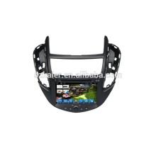 HOT! Dvd do carro com link espelho / DVR / TPMS / OBD2 para 8 polegada tela de toque completo 4.4 sistema Android Chevrolet TRAX