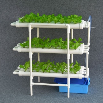 Sistem NFT Skyplant Indoor Greenhouse Hydroponic Shelving
