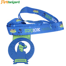 Promotional Printed Medal Lanyards
