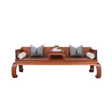 Chinese style wood Arhat bed Wooden sofa bed
