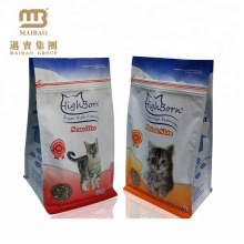 Accept Custom Printed Block Bottom Professional Manufacturers Cat Food Packaging Pouch Bag