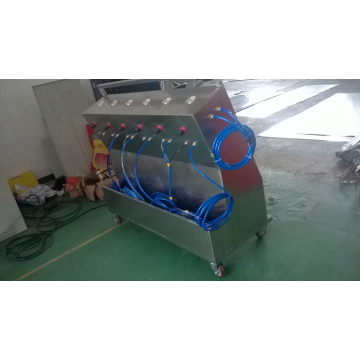 completamente automático de aerosol cromo máquina